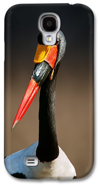 Saddle-billed Stork Portrait Galaxy S4 Case