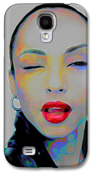 Rhythm And Blues Galaxy S4 Case - Sade 3 by Fli Art
