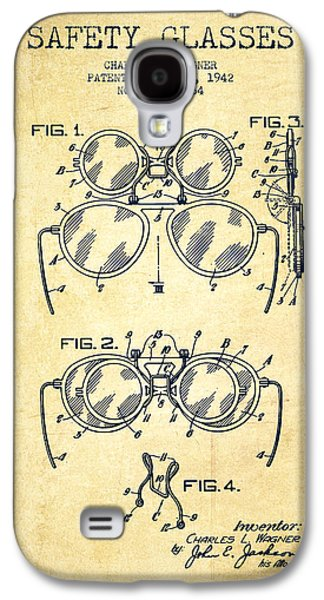 Safety Glasses Patent From 1942 - Vintage Galaxy S4 Case