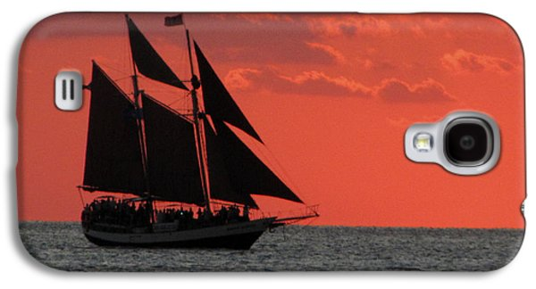 Key West Sunset Sail 5 Galaxy S4 Case
