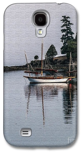 Sailboat In Watercolor Galaxy S4 Case by Robert Bales