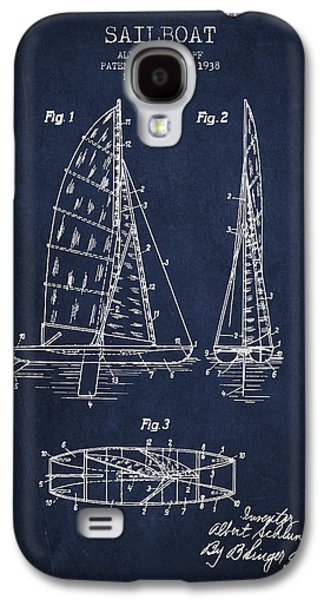 Sailboat Patent Drawing From 1938 Galaxy S4 Case