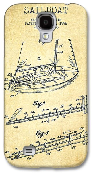 Sailboat Patent From 1996 - Vintage Galaxy S4 Case