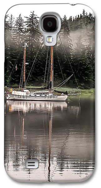 Sailboat Reflection Galaxy S4 Case by Robert Bales