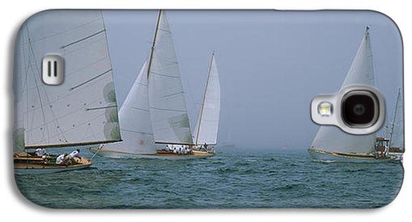 Sailboats At Regatta, Newport, Rhode Galaxy S4 Case