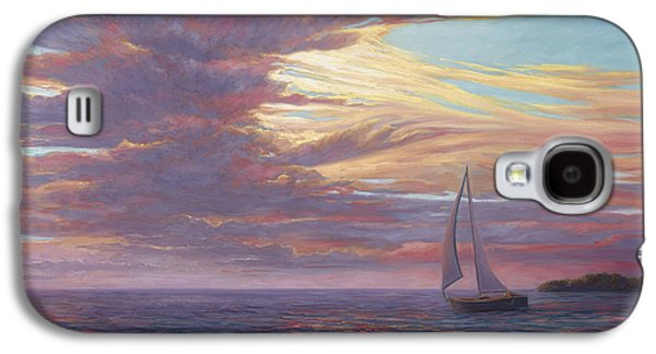 Sailing Away Galaxy S4 Case by Lucie Bilodeau