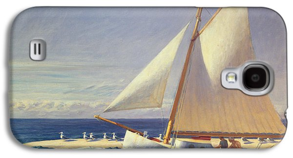 Sailing Boat Galaxy S4 Case by Edward Hopper