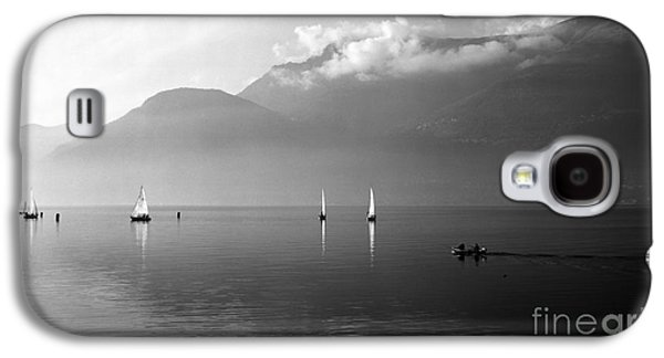 Sailing Boats On Como Lake Galaxy S4 Case by Riccardo Mottola