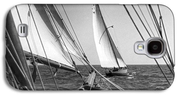 Sailing In Los Angeles Regatta Galaxy S4 Case by Underwood Archives