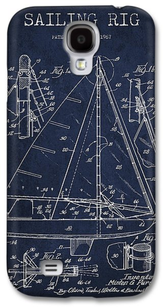 Sailing Rig Patent Drawing From 1967 Galaxy S4 Case