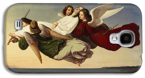 Saint Catherine And Angels Galaxy S4 Case