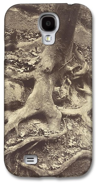 Saint-cloud, Tree Roots, Saint Cloud Park Eugène Atget Galaxy S4 Case by Litz Collection