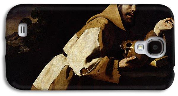 Saint Francis In Meditation Galaxy S4 Case