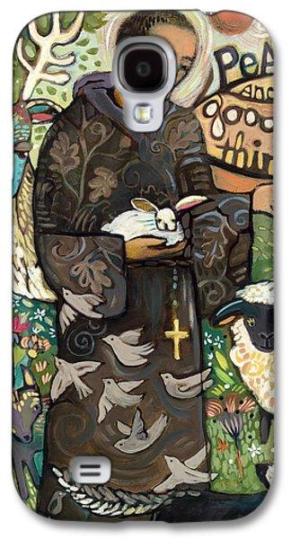 Saint Francis Galaxy S4 Case by Jen Norton