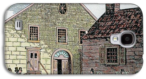 Saint John's Methodist Church Galaxy S4 Case by Prisma Archivo