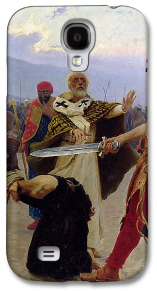 Saint Nicholas Of Myra Saves Three Innocents From Death Galaxy S4 Case by Ilya Efimovich Repin