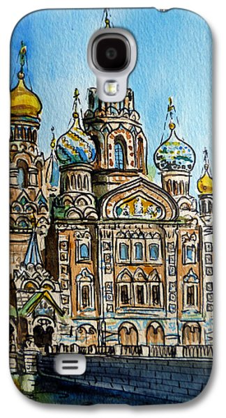 Saint Petersburg Russia The Church Of Our Savior On The Spilled Blood Galaxy S4 Case