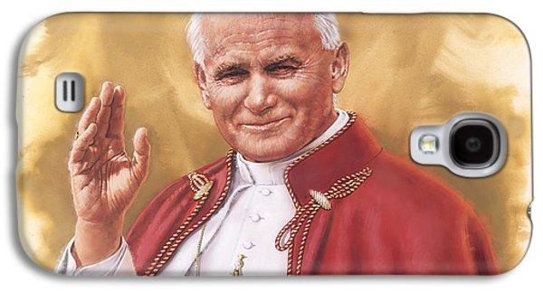 Saint Pope John Paul II Galaxy S4 Case by Dick Bobnick