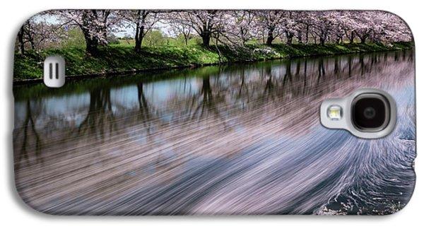 Cherry Blossoms Galaxy S4 Case - Sakura by Takayuki Koike