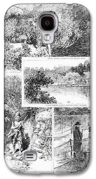 Salmon Fishing, 1888 Galaxy S4 Case