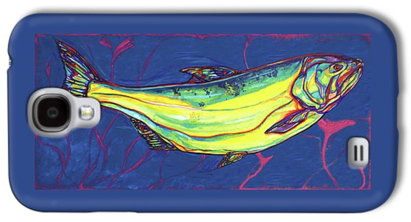 Salmon Of Knowledge Galaxy S4 Case by Derrick Higgins