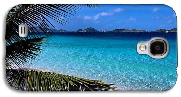Saloman Beach - St. John Galaxy S4 Case by Stephen  Vecchiotti