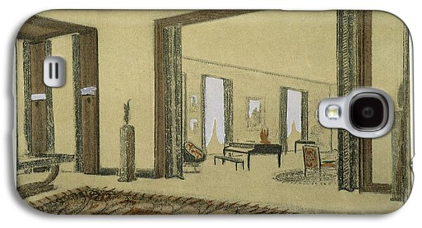Salon, From Repertoire Of Modern Taste Galaxy S4 Case by Jacques-Emile Ruhlmann