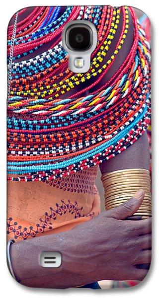 Samburu Tribal Beadwork Galaxy S4 Case by Panoramic Images