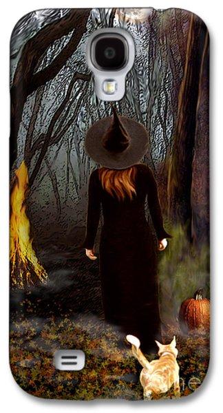 Samhain Witch Galaxy S4 Case