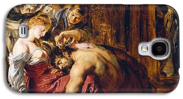 Samson And Delilah, C.1609 Oil On Panel Galaxy S4 Case