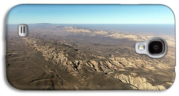 San Andreas Fault Galaxy S4 Case by The Jon B. Lovelace Collection Of California Photographs In Carol M. Highsmith's America Project, Library Of Congress