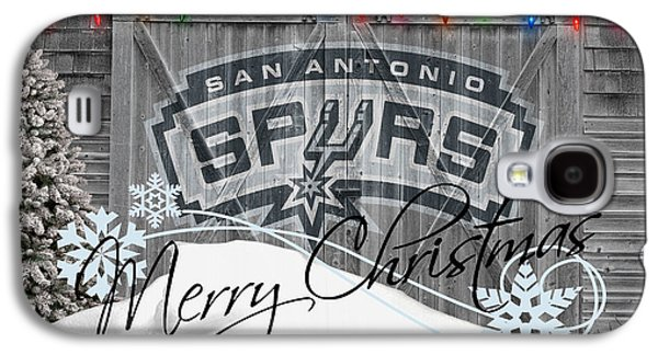 San Antonio Spurs Galaxy S4 Case by Joe Hamilton