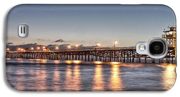 San Clemente Pier At Night Galaxy S4 Case
