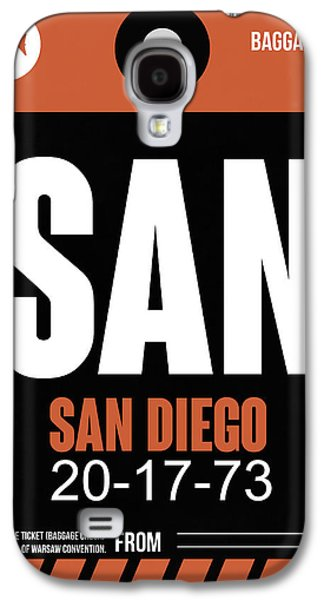 San Diego Airport Poster 3 Galaxy S4 Case by Naxart Studio