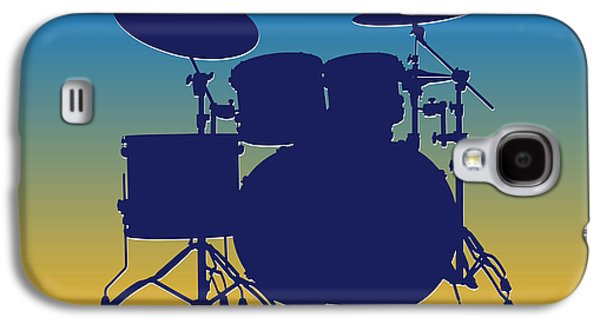 San Diego Chargers Drum Set Galaxy S4 Case by Joe Hamilton