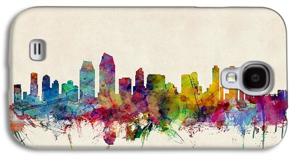 San Diego Skyline Galaxy S4 Case by Michael Tompsett