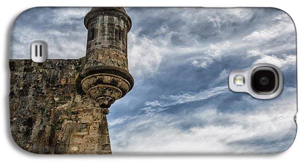 San Felipe Watchtower On A Stormy Day Galaxy S4 Case
