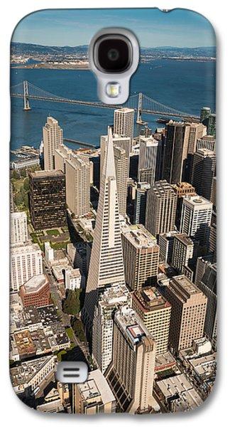 Helicopter Galaxy S4 Case - San Francisco Aloft by Steve Gadomski