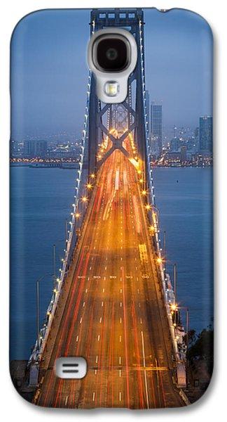 San Francisco - Oakland Bay Bridge Galaxy S4 Case by Adam Romanowicz