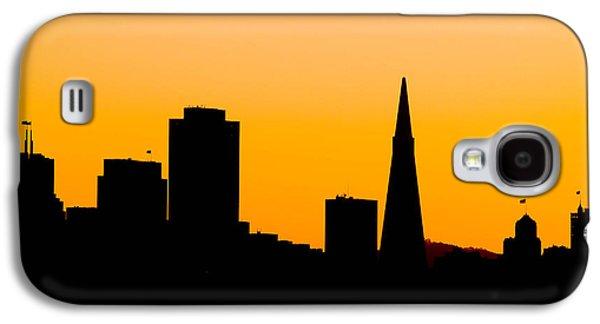 San Francisco Silhouette Galaxy S4 Case by Bill Gallagher