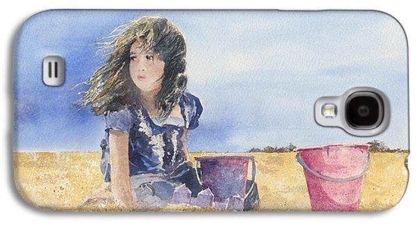 Sand Castle Dreams Galaxy S4 Case by Monte Toon