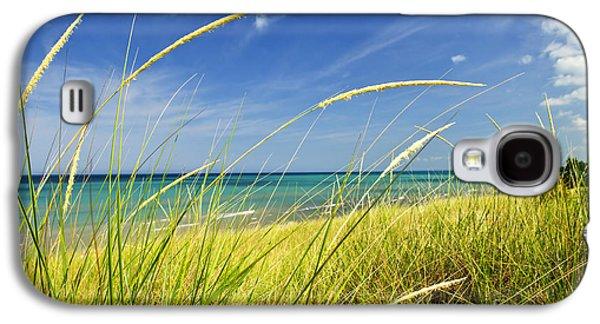 Sand Dunes At Beach Galaxy S4 Case by Elena Elisseeva