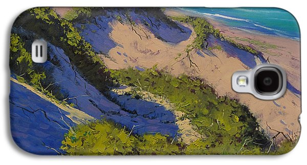 Sand Dunes Oil Painting Galaxy S4 Case by Graham Gercken