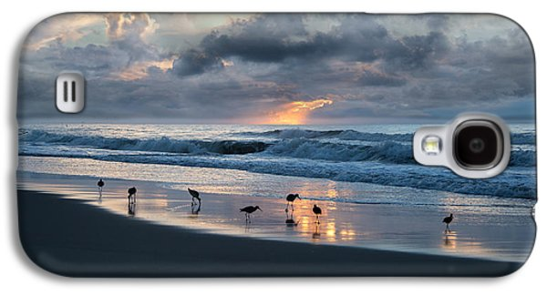 Sandpipers In Paradise Galaxy S4 Case by Betsy Knapp