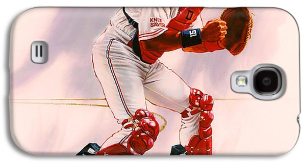 New York Mets Galaxy S4 Case - Sandy Alomar by Dick Bobnick