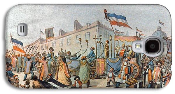 Sans-culottes Parade, 1793 Galaxy S4 Case