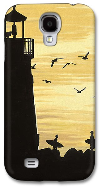 Santa Cruz Lighthouse Galaxy S4 Case by Andrew Palmer
