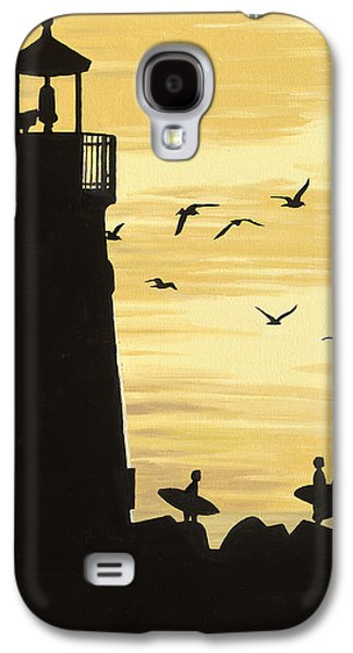 Santa Cruz Lighthouse Galaxy S4 Case