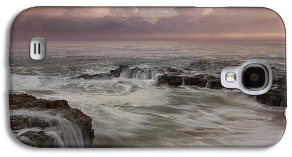 Santa Cruz Sunset Galaxy S4 Case by Keith Kapple