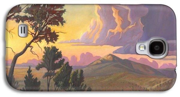 Santa Fe Baldy - Detail Galaxy S4 Case by Art James West